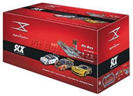 SCX 1/32 Digital System GT Pit Box Slot Car Set - D10009X5U0 (D10009X500)