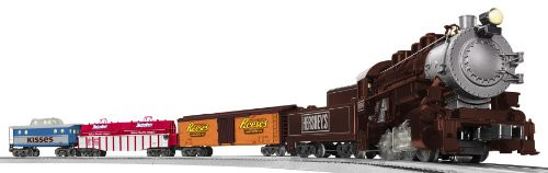 Lionel O Scale Ready-to-Run Hersheys 0-8-0 Freight Train Set - 630196