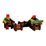 Ideal Toys Frontier Logs in Canister (160 pieces) - 160L