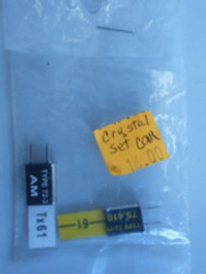 JR AM Crystal Set 75.410 ~ XA61