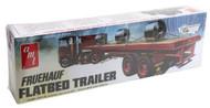 AMT 1/25 Fruehauf Flatbed Trailer Model Kit - 617