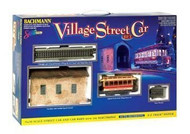 Bachmann Spectrum On30 Scale Village Street Car Train Set (Christmas) - 25017