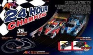 AFX 24 Hour Champions Mega-G HO Scale Slot Car Set - 70286