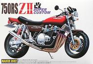 Aoshima 1/12 Kawasaki 750RS ZII-Kai Super Custom Motorcycle Model Kit : 041789