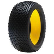 Losi 1/8 Reptile Buggy Tire, Silver w/Foam (2) ~ A7771S