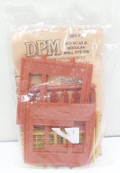 DPM Design Preservation Models HO Scale Modular System Dock Level Steel Sash Entry (4 Pieces) - 30172