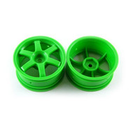 Traxxas 1/16TH Volk Racing TE37 Wheels: 2 (Green) - 7374A
