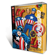 Auto World (Round 2) Captain Action Captain America Deluxe Costume Set - CA1003