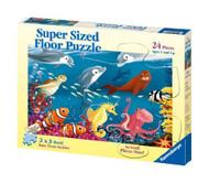 Ravensburger Ocean Life 24 Piece Super Size Kids Floor Puzzle - 05456