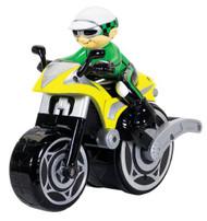 Kid Galaxy Big Wheelie Cycle Speedster Green/Yellow: 27MHz- 10431