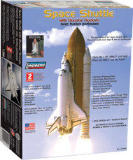 Lindberg 1/200 Space Shuttle with Booster Rockets Model Kit - 91002