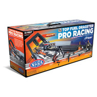 Auto World Top Fuel Dragster Pro Racing Dragstrip HO Scale Slot Car Set - SRS248