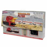 Williams by Bachmann O Scale Santa Fe Flyer Passenger Train Set - 00321