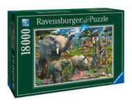 Ravensburger At the Waterhole 18000 Piece Jigsaw Puzzle - 17823