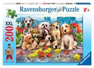Ravensburger Posing Pups 200 Piece Puzzle - 12654
