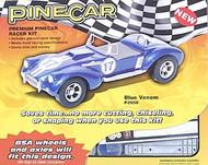 PineCar Derby Racers Premium Kit Blue Venom Racer - 3950