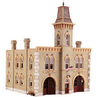 DPM Design Preservation Models HO Scale Kit Fire Station No. 3 - 12400