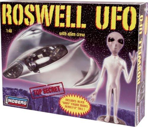 Lindberg 1/48 Roswell UFO Model Kit - 91005