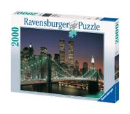 Ravensburger New York City:Brooklyn Bridge and Manhattan 2000 Piece Jigsaw Puzzle - 16609