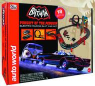 Auto World Batman Pursuit of the Peguin HO Scale Slot Car Set - SRS258