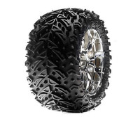 Losi 320S Zombie Max/Force Wheel Mounted, Chrome(2) ~ B7413