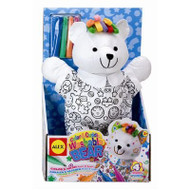 Alex Toys Color & Cuddle Washable Bear - 69WB