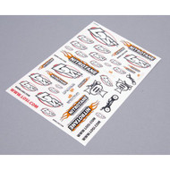 Losi 8IGHT-T 2.0 RTR Sticker Sheet ~ B8210