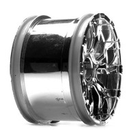 Losi 320S Force Wheel, Chrome (2) ~ B7013