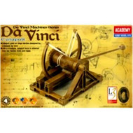 Academy Leonardo da Vinci Catapult Educational Snap Together Model Kit - 18137