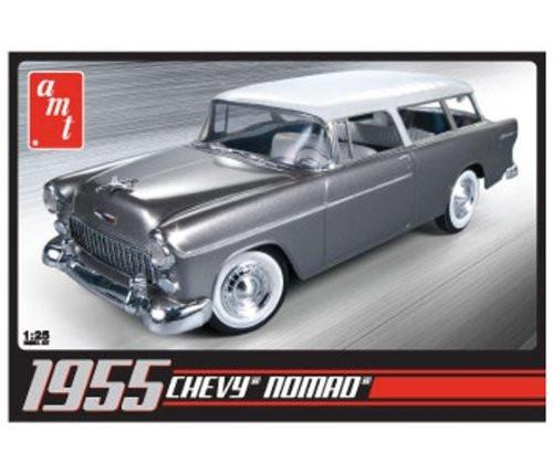 AMT 1/25 1955 Chevrolet Nomad Car Model Kit - 637
