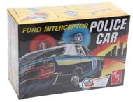 AMT 1/25 1970 Ford Galaxie Police Interceptor Car Model Kit - 788