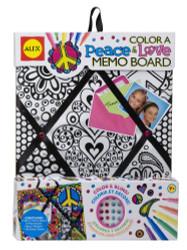 Alex Toys Color a Peace & Love Memo Board - 108C