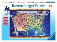 Ravensburger USA Map 300 Piece Puzzle - 13039