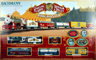 Bachmann HO Scale Ringling Bros & Barnum & Bailey Ringmaster Train Set - 00714