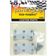 PineCar Derby Racers Axle Keepers (2 Pieces) - 458