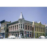 DPM Design Preservation Models N Scale Kit Corner Turret Building - 51300