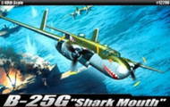Academy 1/48 B-25G Shark Mouth Airplane Model Kit - 12290 (NEW! - Arrives in May)