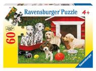 Ravensburger Puppy Party 60 Piece Puzzle - 09526