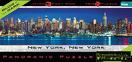 Buffalo Games New York Glow in the Dark Panoramic 765 Piece Jigsaw Puzzle - 140NYGD