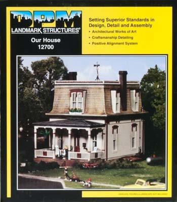 DPM Design Preservation Models HO Scale Kit Our House - 12700