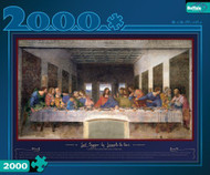 Buffalo Games The Last Supper 2128 Piece Jigsaw Puzzle - 2006
