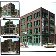DPM Design Preservation Models HO Scale Modular System Designer Bulk Pack Victorian Storefront Building - 36300