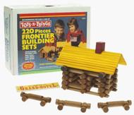 Ideal Toys Frontier Logs Building Set (220 pieces) - 220L