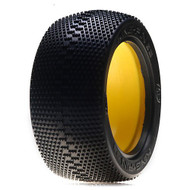 Losi 1/8 Kingpin G2 Truck Tire w/Inserts, Red (2) ~ A7786R