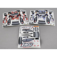 Losi Micro Rally Sticker Set ~ B1798
