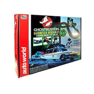 Auto World Ghostbusters Haunted Highway HO Scale Slot Car Set - SRS260