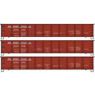 "Accurail HO Kit 41'6"" USRA Gondola, PRR (3) ~ 37474"