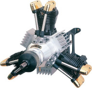 Saito 450 3-Cylinder Radial Dual Plug: HH ~ E450R3D