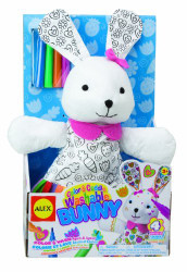 Alex Toys Color & Cuddle Washable Bunny - 69WR