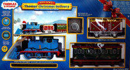 Bachmann G Scale Thomas & Friends Thomas' Christmas Delivery Train Set - 90087